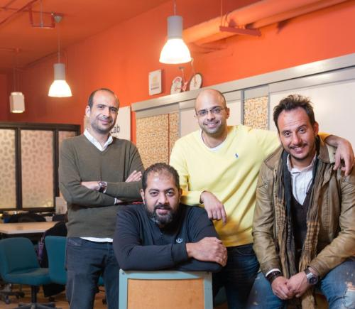 group of entrepreneurs